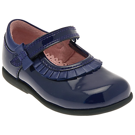 Buy Start-rite Coco Patent Shoes, Navy Online at johnlewis.com