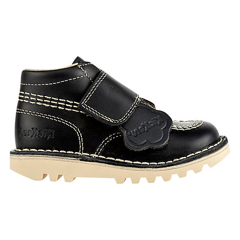 Buy Kickers Kilo Strap Shoes, Navy Online at johnlewis.com