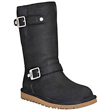 Buy UGG Kensington 1969 Boots, Black Online at johnlewis.com