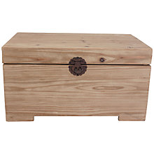 Buy John Lewis Driftwood Storage Trunks Online at johnlewis.com