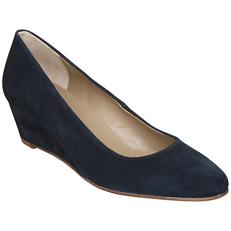 Buy Dune Addy Suede Wedge Court Shoes Online at johnlewis.com