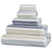 Buy John Lewis Stripe Pier Towels, Multi Online at johnlewis.com