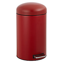 Buy Brabantia Retro Pedal Bin, 12L Online at johnlewis.com