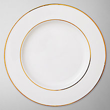 Buy Queensberry Hunt for John Lewis Gold Band Plates Online at johnlewis.com