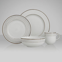 John Lewis Platinum Dot Tableware