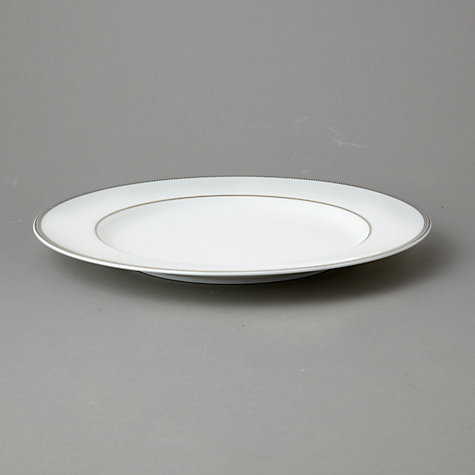 Buy John Lewis Platinum Dot Plates Online at johnlewis.com