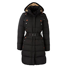 Buy Aigle Cuckmere Duckdown Coat, Black Online at johnlewis.com