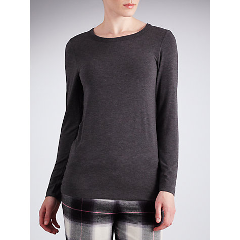 Buy DKNY Seven Easy Pieces Long Sleeve Pyjama Top Online at johnlewis.com