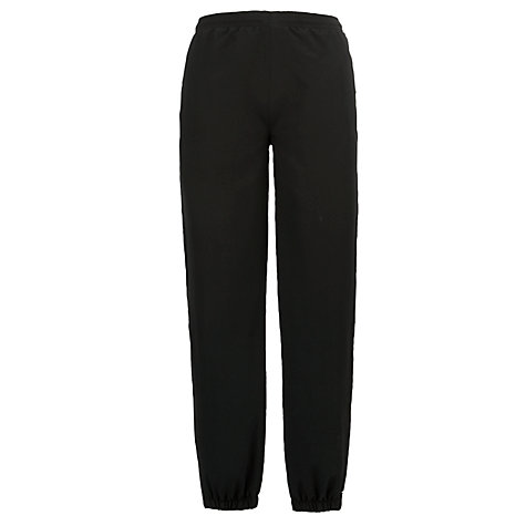 Buy School Tracksuit Bottoms, Black Online at johnlewis.com