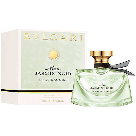 Buy Bvlgari Mon Jasmin Noir L'Eau Exquise Eau de Toilette Online at johnlewis.com
