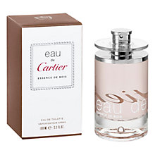 Buy Cartier Eau de Cartier Essence de Bois Eau de Toilette Online at johnlewis.com