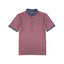 Buy Ted Baker Big Taxi Polo Shirt, Dark Red Online at johnlewis.com