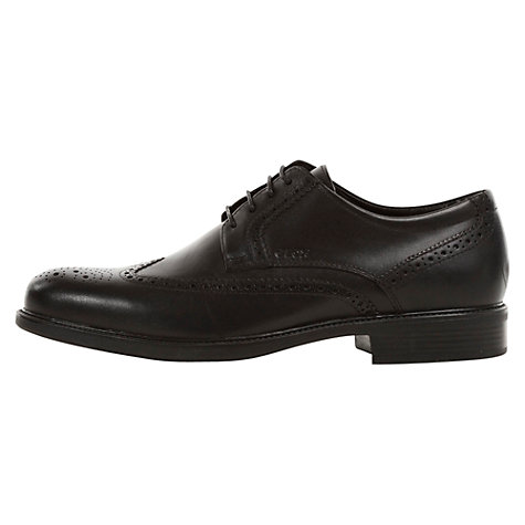 Buy Geox Carnaby Brogues, Black Online at johnlewis.com
