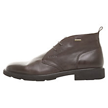Buy Geox Rubbiano Abx Chukka Boots, Coffee Online at johnlewis.com