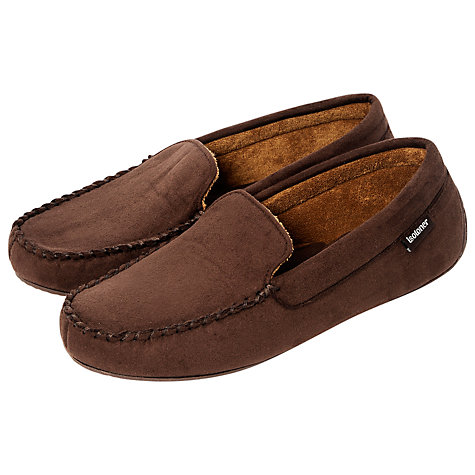 Buy Totes Suedette Moccasin Slippers Online at johnlewis.com