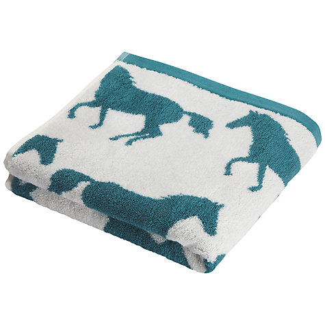 Buy Anorak Horse Towel, Green Online at johnlewis.com
