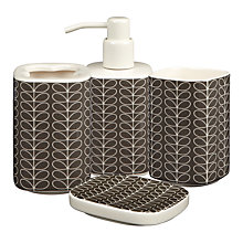 Buy Orla Kiely Linear Stem Bathroom Accessories  Online at johnlewis.com