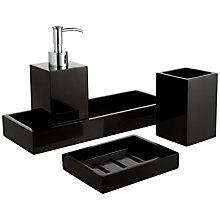 Buy John Lewis Ebony Bathroom Accessories  Online at johnlewis.com