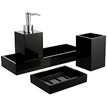 John Lewis Ebony Bathroom Accessories