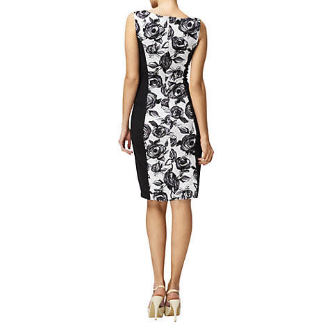 Buy Phase Eight Rosemary Dress, Black Multi Online at johnlewis.com