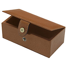 Buy Mulberry Leather Cufflink Box, Oak Online at johnlewis.com