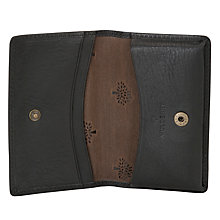 Buy Mulberry Card Case, Black Online at johnlewis.com
