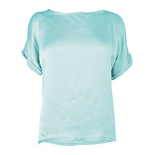 Buy Phase Eight Made in Italy Azalia Silk Front Jersey T-Shirt Online at johnlewis.com