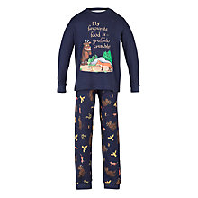 Buy Gruffalo Pyjamas, Navy Online at johnlewis.com