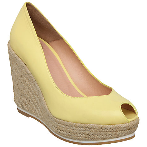 Buy Bertie Craylo Peep Toe Espadrille Court Shoes Online at johnlewis.com