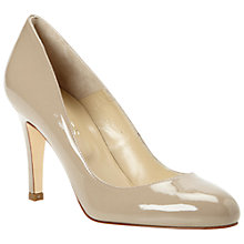 Buy Hobbs Rebecca Patent Leather Almond Toe Court Shoes Online at johnlewis.com