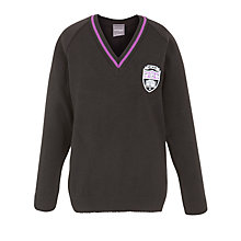 Buy Gateacre School Pullover, Black Online at johnlewis.com
