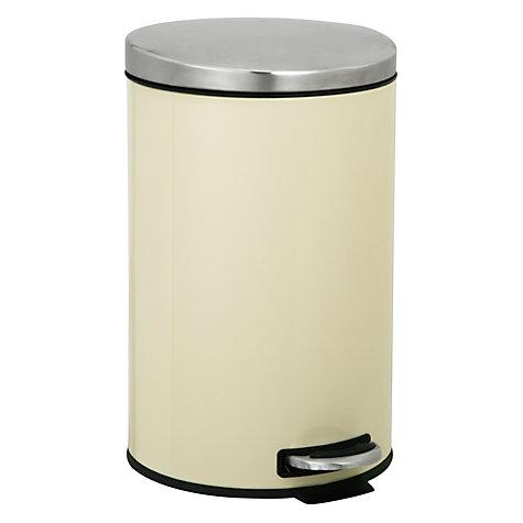 buy john lewis pedal bins 12l john lewis. Black Bedroom Furniture Sets. Home Design Ideas