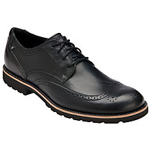 Buy Rockport Ledge Hill Wing Tip Leather Shoes Online at johnlewis.com