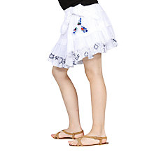 Buy Desigual Cuba Skirt, White Online at johnlewis.com