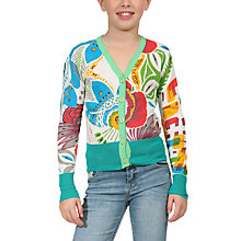 Buy Desigual Lino Cardigan, White Online at johnlewis.com