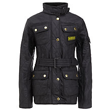 Buy Barbour Girls' International Quilted Jacket Online at johnlewis.com