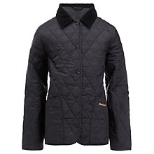 Buy Barbour Girls' Liddesdale Quilted Jacket Online at johnlewis.com