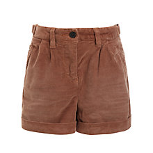 Buy Scotch R'belle Corduroy Shorts, Brown Online at johnlewis.com