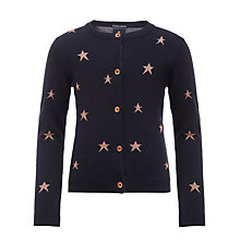 Buy Scotch R'belle Star Cardigan, Navy Online at johnlewis.com
