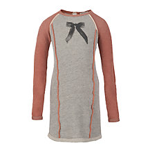 Buy Scotch R'belle Sweat Dress with Bow, Grey Online at johnlewis.com