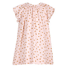 Buy Hucklebones Heart Georgette Dress, Pink Online at johnlewis.com