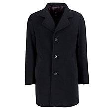 Buy Bugatti Wool Cashmere Coat, Navy Online at johnlewis.com
