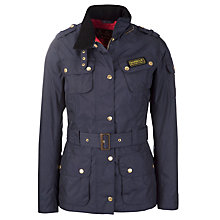 Buy Barbour Rainbow International Jacket, Navy Online at johnlewis.com