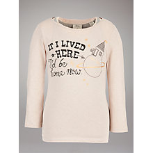 Buy Scotch R'belle Double Layered Long Sleeved Top, Light Pink Online at johnlewis.com