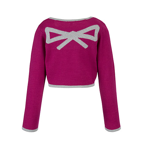 Buy John Lewis Girl Party Cardigan Online at johnlewis.com
