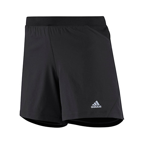 "Buy Adidas Sequencials 5"" Shorts, Black Online at johnlewis.com"