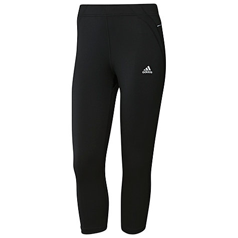 Buy Adidas Sequencials 3/4 Tights, Black Online at johnlewis.com