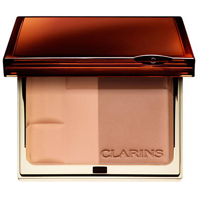 shop for Clarins Bronzing Duo Mineral Powder Compact at Shopo