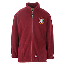 Buy Welwyn St Mary's Primary School Fleece, Maroon Online at johnlewis.com
