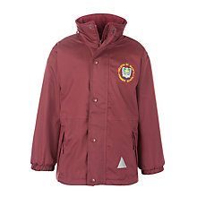 Buy Welwyn St Mary's Primary School Reversible Jacket, Maroon Online at johnlewis.com